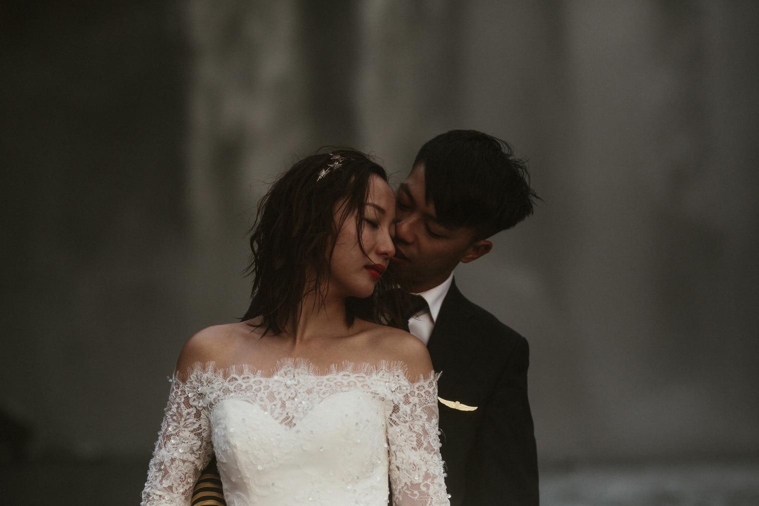 skogafoss wedding