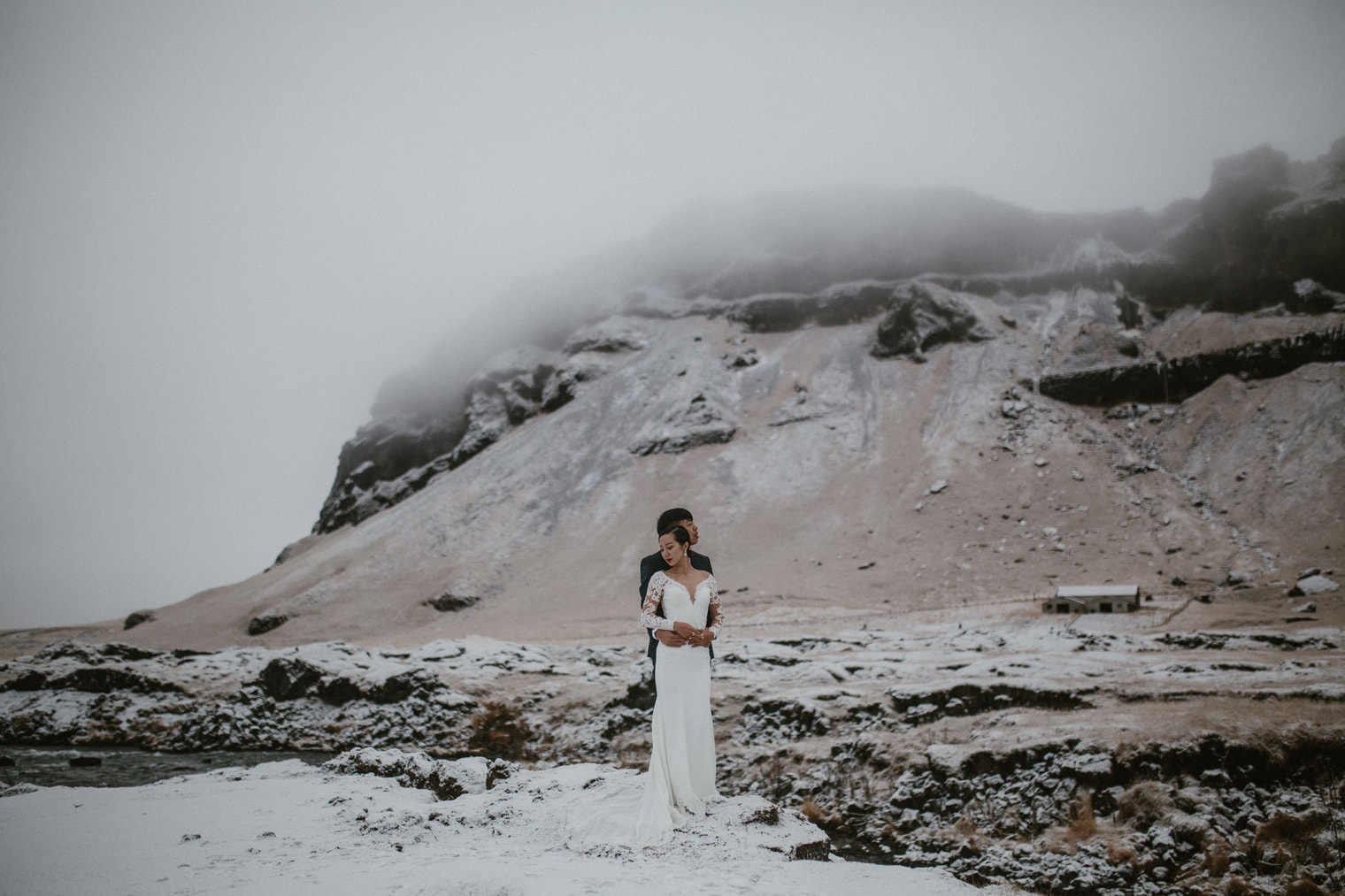 winter elopement iceland