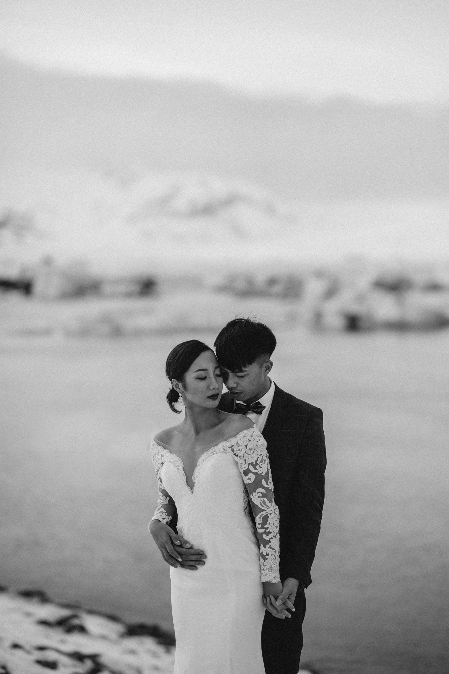 Iceland wedding at Jökulsárlón