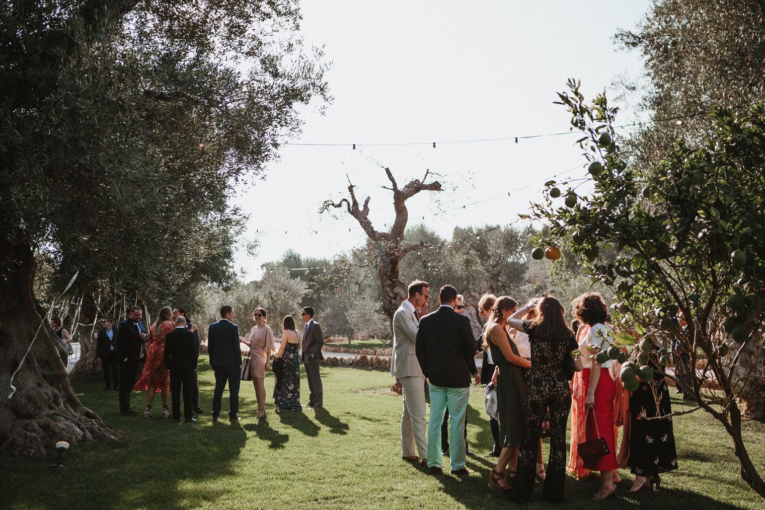 masseria torre coccaro wedding reception in Puglia
