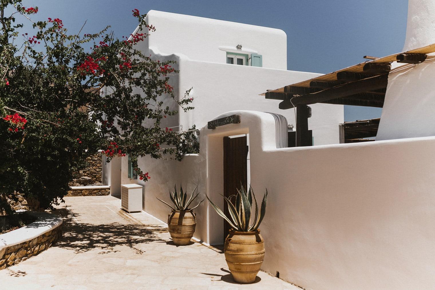 Mykonos wedding accommodation, Panormos Mykonos Villas