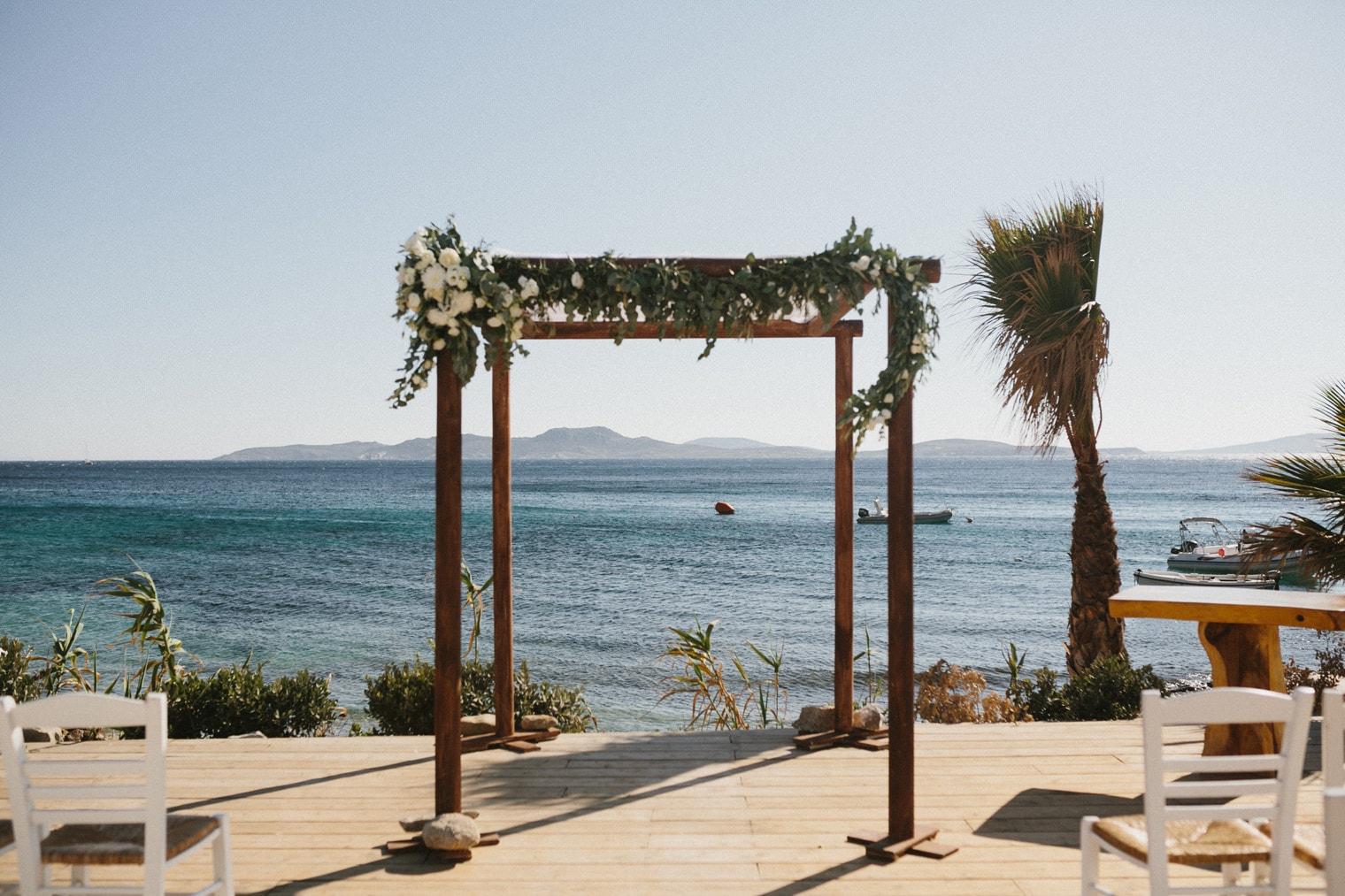 Hippie Fish Mykonos Greece Wedding Venue in Greece