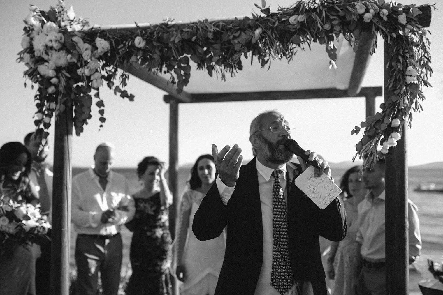 Jewish wedding in Mykonos Greece