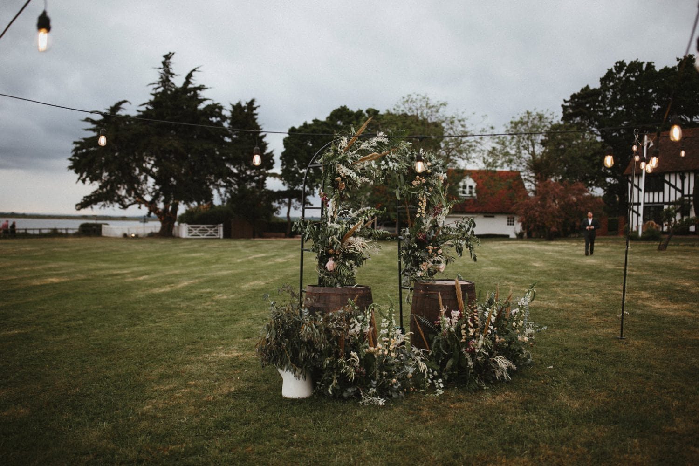 Wedding Arbour for outdoor wedding in Essex