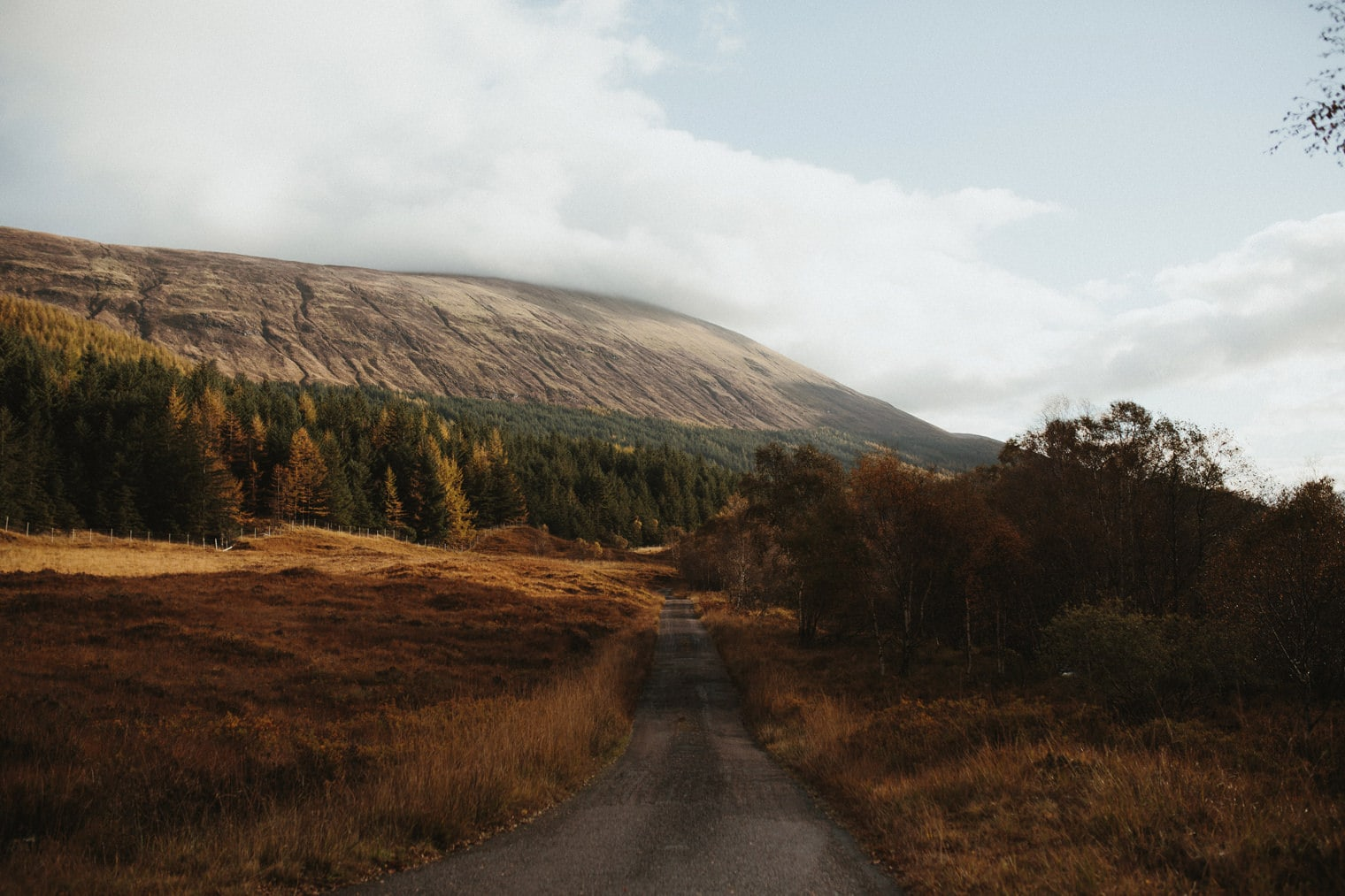 backround in the Scottish Highlands