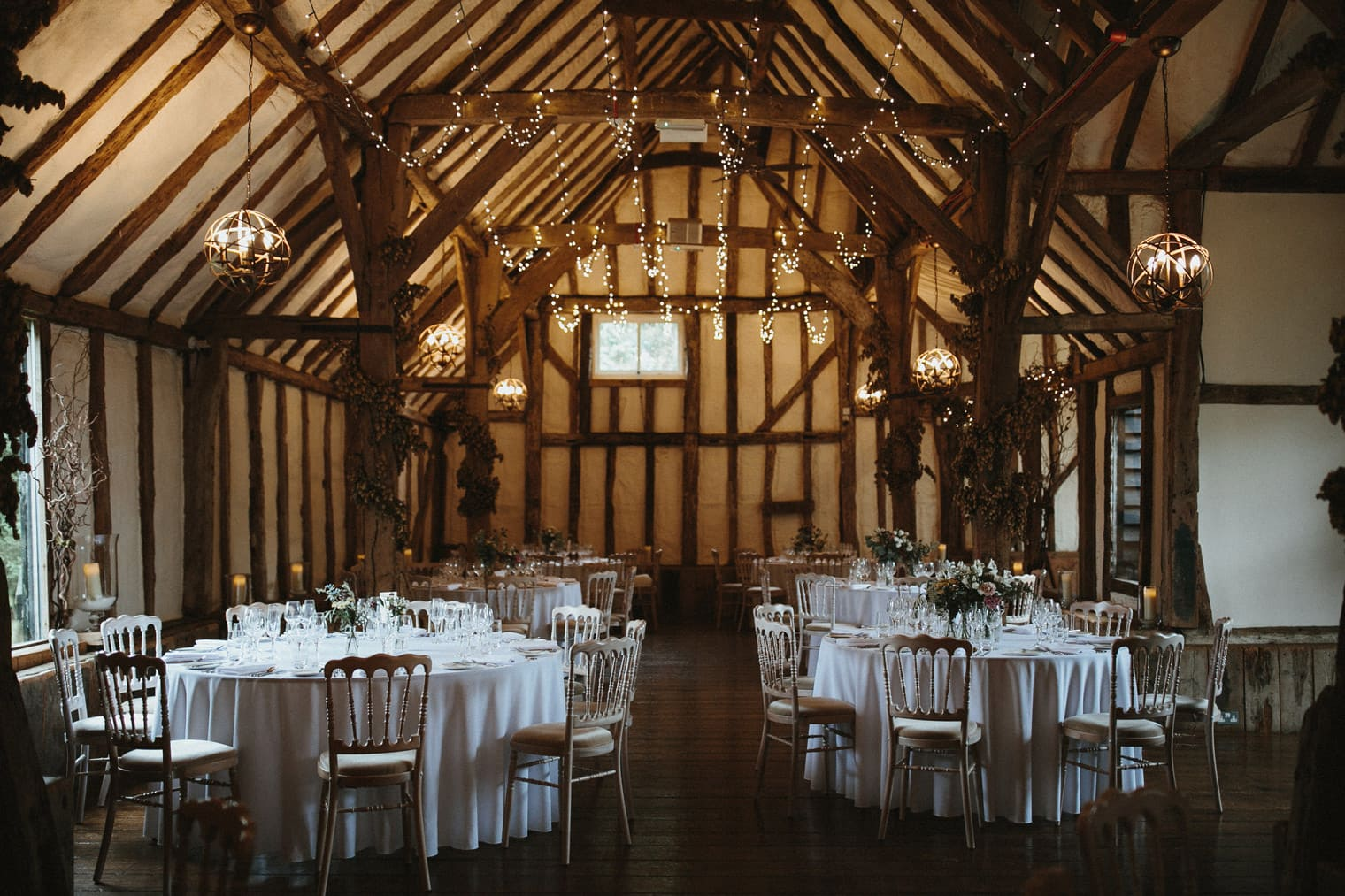English Barn Wedding venue in Canterbury, Kent