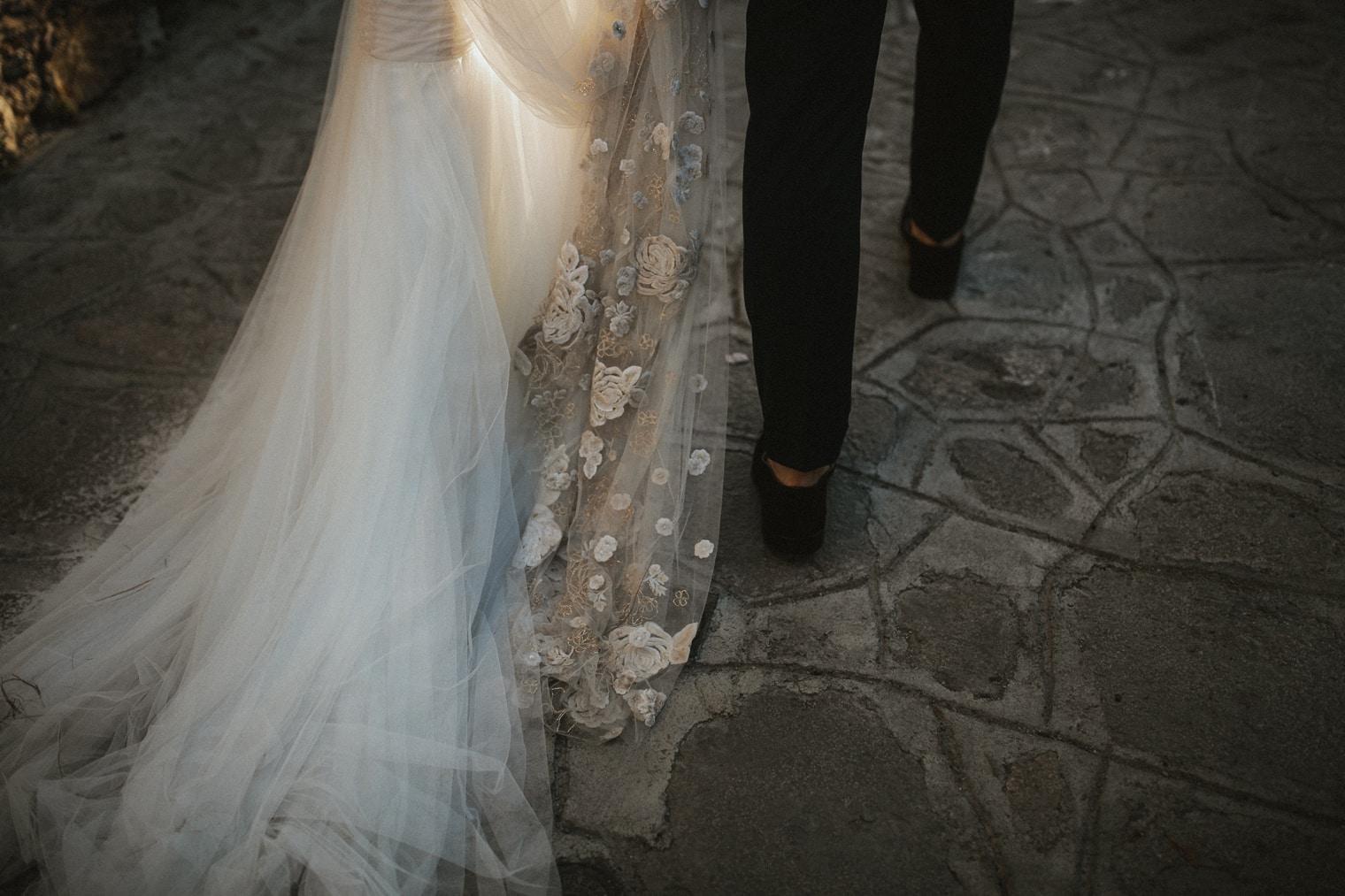 Jenny packham bespoke wedding dress