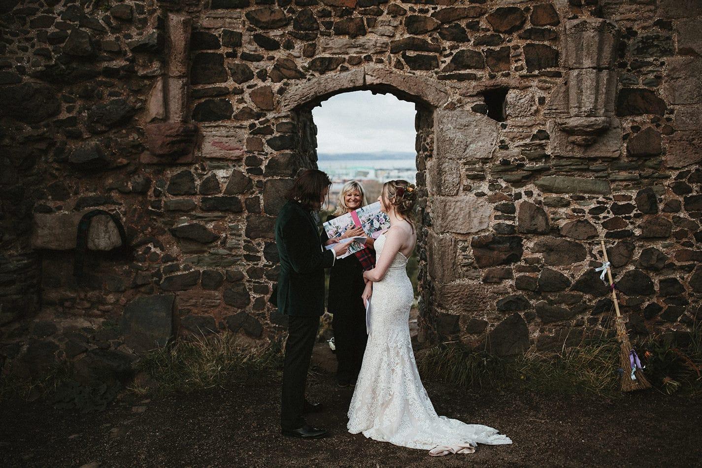 St.Anthony's Chapel wedding ceremony