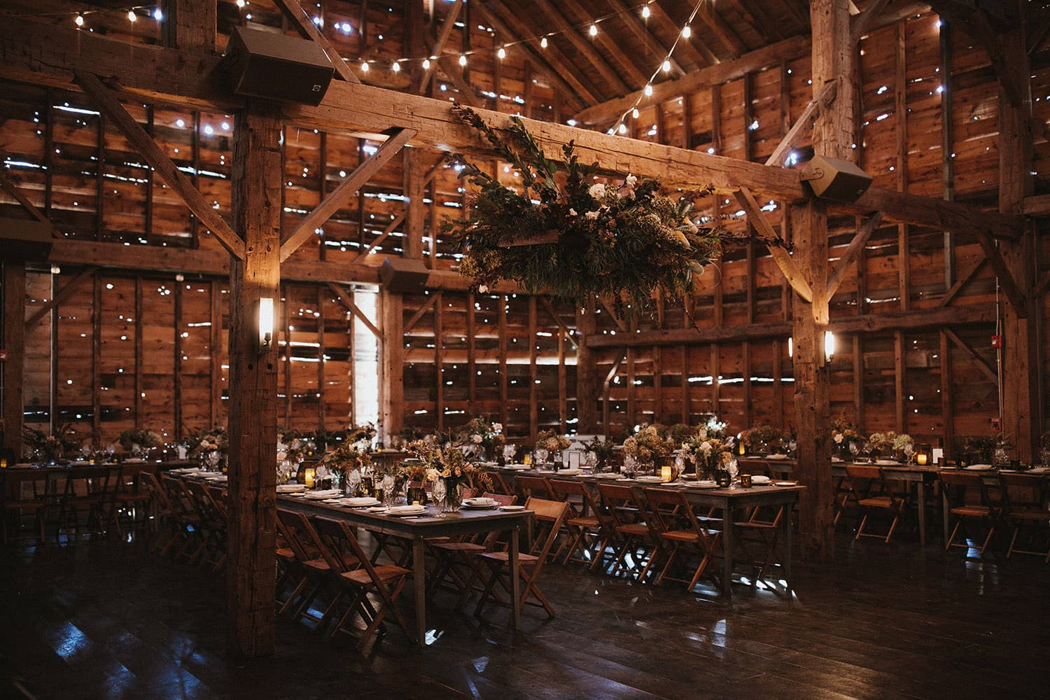 Wedding Reception at Handsome Hollow, NY