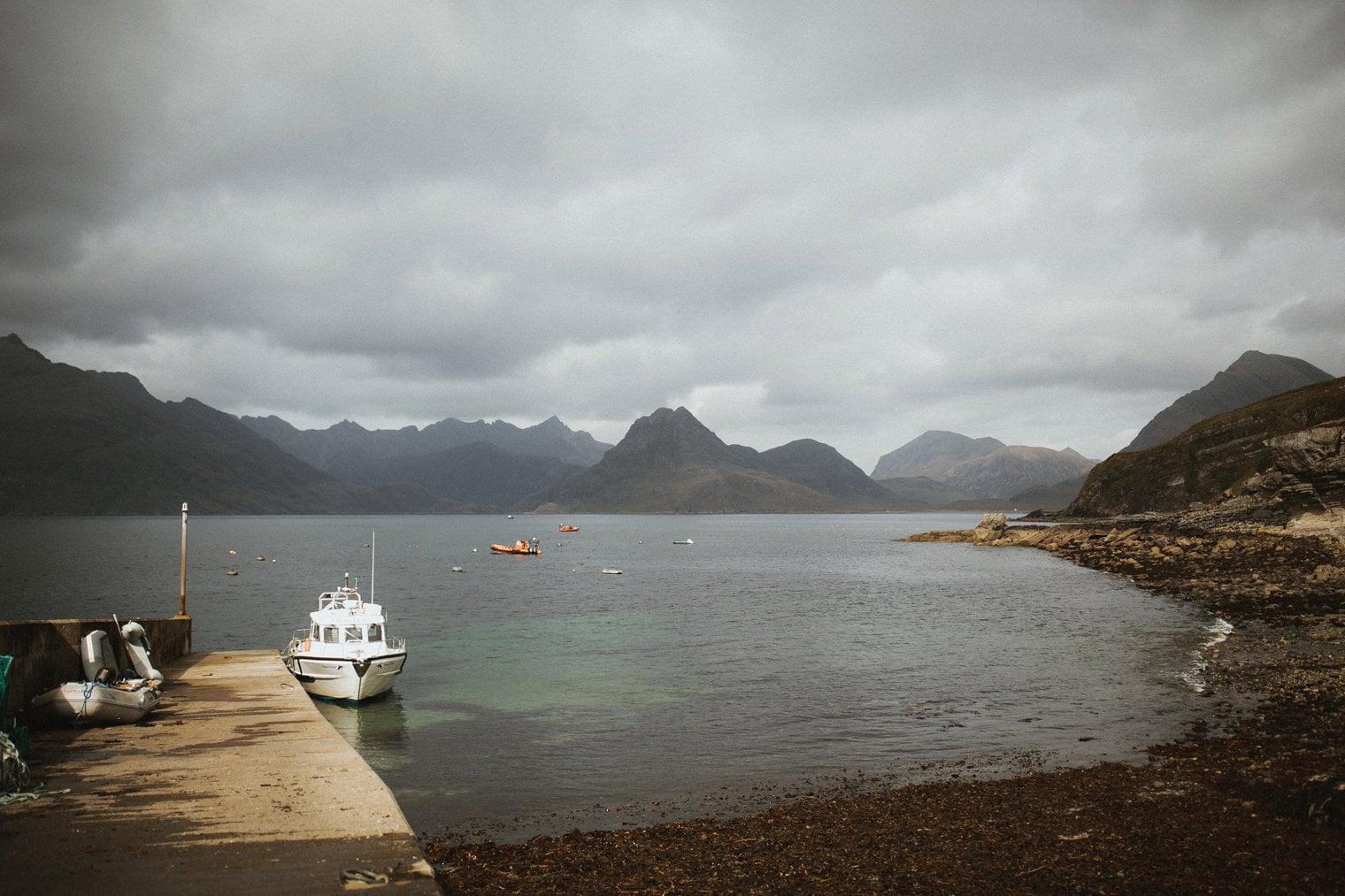 Loch Coruisk Boat Tour for wedding