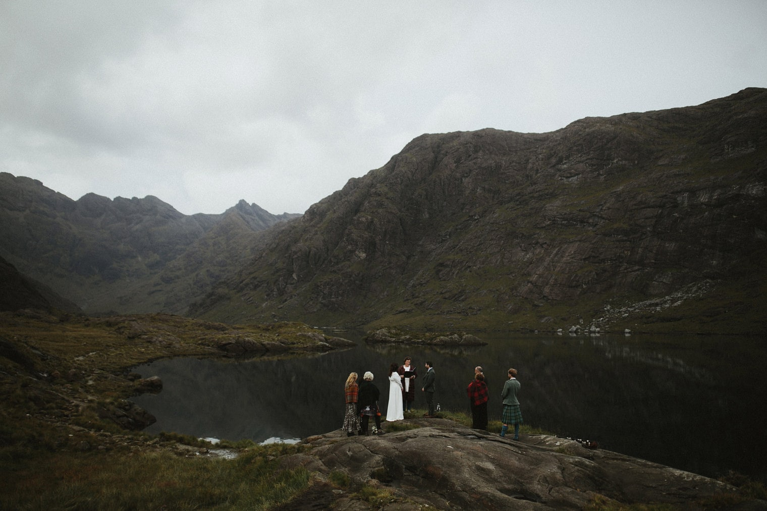 Intimate Elopement at Loch Coruisk in Isle of Skye