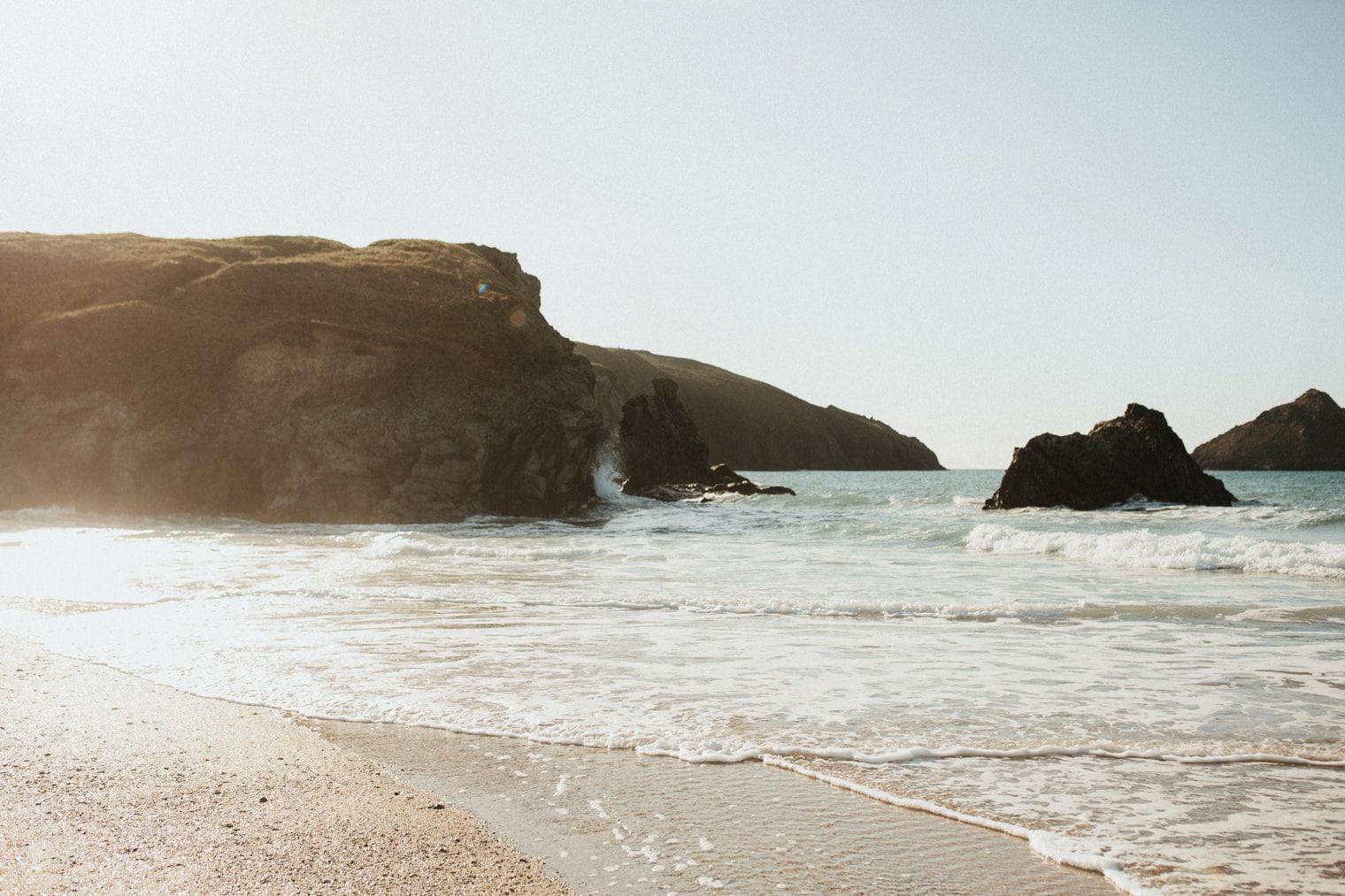Holywell Beach, Cornwall