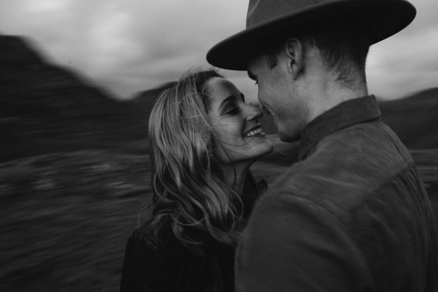 cinematic couples engagement photography in the lake district